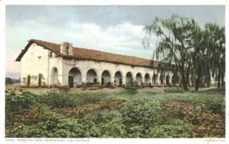 Mission postcard circa 1900.