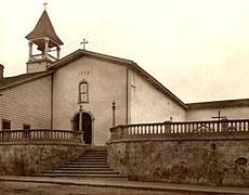 The mission circa 1909.